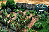 VEGETABLE POTAGER GARDEN.