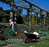 GARDENERS AT WEST DEAN,  WEST SUSSEX