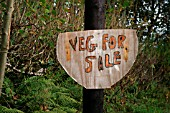 VEGETABLES FOR SALE SIGN