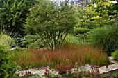 Jardin de Valerianes with mixed grasses