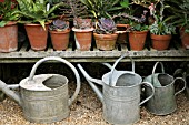 WATERING CANS AND POTS