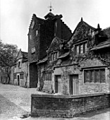 THE STABLE BUILDING AT MARPLE HALL. THE HOUSE WAS DEMOLISHED IN 1957