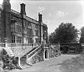 THE TERRACE AT DRAKELOW HALL. THE HOUSE WAS DEMOLISHED IN 1934.