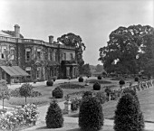THE GARDEN FRONT OF HARTHAM PARK.