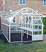 GREENHOUSE CONSTRUCTION AT WAKEFIELDS GARDEN, COMPLETED BUILDING