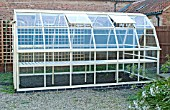 GREENHOUSE CONSTRUCTION AT WAKEFIELDS GARDEN, FINISHED BUILDING.