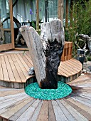 WATER FEATURE,  DRIFTWOOD.
