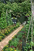 VEGETABLE GARDEN (BARNSDALE GARDENS)
