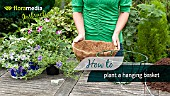 HOW TO: PLANT A HANGING BASKET - STEP BY STEP ACTION VIDEO