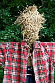 SCARECROW: HEAD MADE OF STRAW