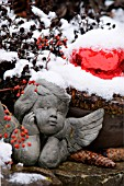 CHERUB WINTER DECORATION