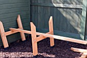 H FRAME LEGS AND CROSS BEAM SUPPORT, RAISED VEGETABLE BED PROJECT