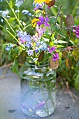 MIXED WILD FLOWERS IN JAR