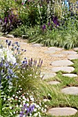 THE ECOVER GARDEN BY MATTHEW CHILDS, RHS HAMPTON COURT FLOWER SHOW  BEST IN SHOW AND GOLD MEDAL WINNER