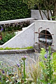 RHS CHELSEA FLOWER SHOW 2013,   THE WASTELAND GARDEN, DESIGNER KATE GOULD.  GOLD MEDAL WINNER