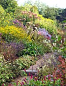 HERBACEOUS BORDER, LATE SUMMER