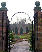 ENTRANCE TO WINTERBOURNE BOTANICAL GARDENS