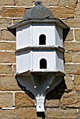 WALL MOUNTED DOVECOTE AT RENISHAW HALL, DERBYSHIRE