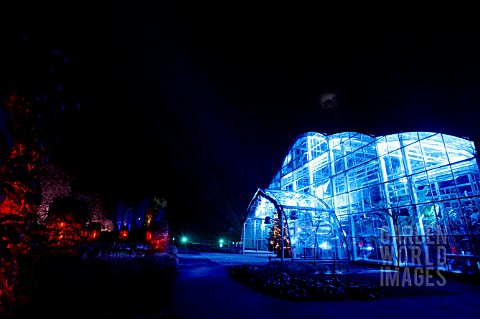 RHS_WISLEY_GLASSHOUSE_LIT_UP_IN_THE_LIGHT_TRAIL_EVENT