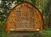 HOTEL FOR WILD BEES AT THE JARDIN DES PLANTES, PARIS