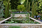 DORSET WATER LILY GARDEN: ROMANTIC CHARM, HAMPTON COURT PALACE FLOWER SHOW 2008, DESIGNED BY CLAUDIA DE YONG