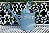 WATERING CAN, SHEPHERD HOUSE, INVERESK, SCOTLAND. OWNERS, SIR CHARLES AND LADY ANN FRASER