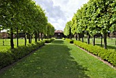 WALLED GARDEN AND AVENUE OF TREES, AT THREAVE GARDEN