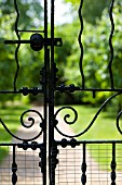 WROUGHT IRON GATE DETAIL