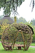 WOVEN HAZEL SCULPTURE BY MARK FORD