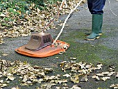 LEAF SWEEPING WITH A FLYMO